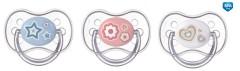 Šidítko 18m+ silikonové symetrické Newborn Baby