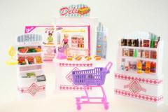 Glorie Supermarket - nakupování pro panenky