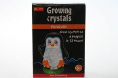 Rostoucí krystaly tučňák