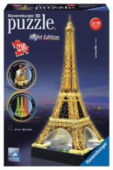 3D puzzle Ravensburger - Eiffelova věž LED