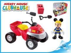 Mickey Mouse záchranářská čtyřkolka 10cm s doplňky