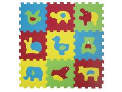 Puzzle pěnové 84x84 cm zvířátka Basic Ludi