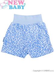 Kojenecké kraťásky New Baby Leopardík modré vel. 86