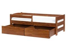 Šuplíky k posteli Scarlett SISI - 2kusy - ořech
