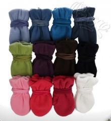 Zimní fleecové rukavičky se šňůrkou Vel. 3 (5 let a více)