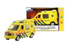 Auto ambulance 22cm se světlem se zvukem