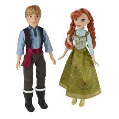 Frozen modní panenka dvojbalení - Anna a Kristoff