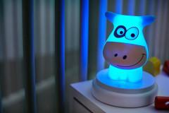 LED noční světlo, cow NAUGHTY COW Alecto