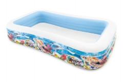 Bazén obdélník mořský svět nafukovací 305x183x56cm Intex