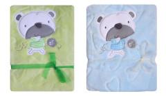 Dětská deka Koala Srdíčka s medvídkem
