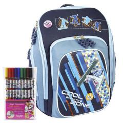 Školní batoh Cool Cherry set + Fixy Diddl - Gravity Zone