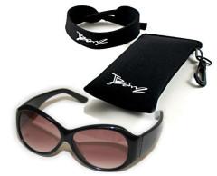 Baby Banz RETRO dětské sluneční brýle JBANZ Černé