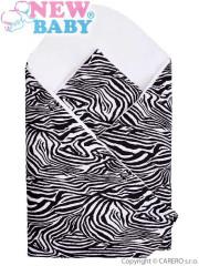 Zavinovačka New Baby Zebra bílo-černá