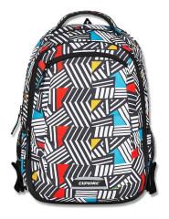 Studentský batoh 2v1 VIKI Abstract
