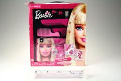 Barbie vlasové doplňky + kabelka KORÁLKOVAČ