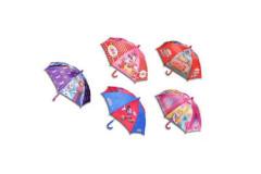 Deštník Disney 55cm manuální MICKEY MOUSE, MINNIE, CARS, FROZEN nebo PRINCEZNY