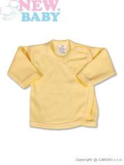 Kojenecká košilka New Baby Classic vel. 56 ŽLUTÁ