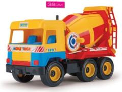 Auto middle truck domíchávač 38 cm Wader