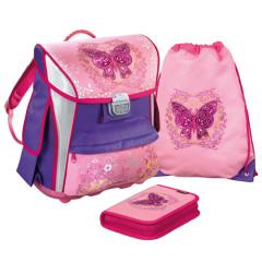 Školní set Idena - Motiv motýla
