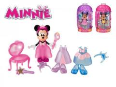 Minnie figurka kloubová 14cm s módními doplňky