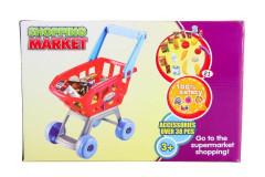 Nákupní košík s potravinami