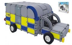 Stavebnice Seva Rescue 2 Policie plast 534ks