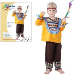 Kostým - Indián 3-4 roky