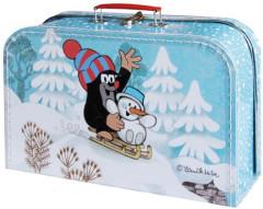 Kufřík Krtek a sněhulák 35 cm