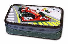 Školní penál box Formule racing