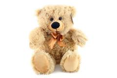 Plyšový medvěd světlý 35 cm