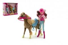 Kůň + panenka žokejka