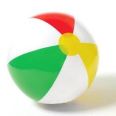 Nafukovací míč plážový - do vody 41cm Intex