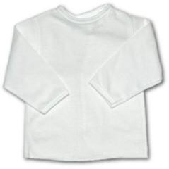 Košilka kojenecká bílá zavazovací vel. 56