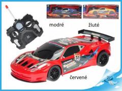 R/C auto sportovní 23 cm plná funkce na baterie se světlem