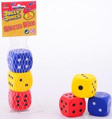 Pěnové hrací kostky 3 ks