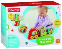 Fisher Price skládačka vagónky