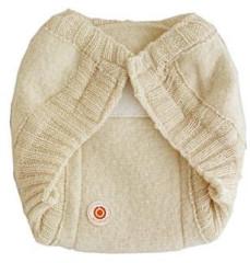 Vlněné svrchní kalhotky suchý zip