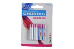 Baterie Grundig LR03/AAA 1,5 V alkaline 4ks