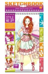 Style Me Up 4 roční období - Návrhářské portfolio