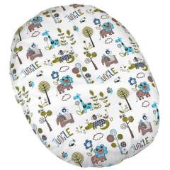 Kojenecký relaxační polštář- pelíšek Babyrenka - JUNGLE TYRKYS