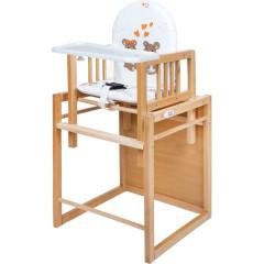Buková židlička New Baby Victory II - plastový pultík