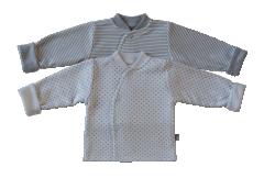 Bavlněný kabátek oboustranný Hvězdičky Baby Service