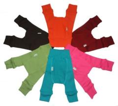 Wool longies dlouhé vlněné kalhoty