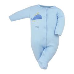 Kojenecký bavlněný overal Koala Happy Baby modrý
