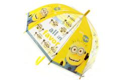 Deštník průhledný Mimoni
