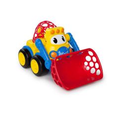 Hračka autíčko bagr Oball go Grippers™, 18m+