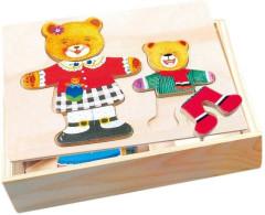 Šatní skříň Medvědice a medvídě