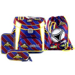 Školní aktovka set Goal - Barcelona