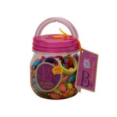 B.toys Spojovací korále a tvary Beauty Pops 150 ks