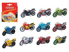 Motocykl Fantasy 6,5 cm, 12 druhů